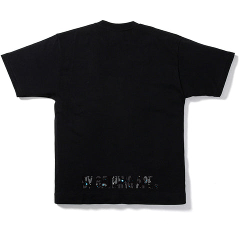 SPACE CAMO APE FACE TEE MENS