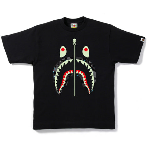 SPACE CAMO SHARK TEE MENS