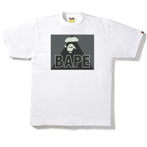 GID APE FACE IN THE SQUARE TEE MENS