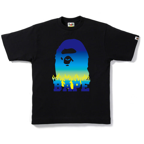 BAPE FLAME TEE MENS