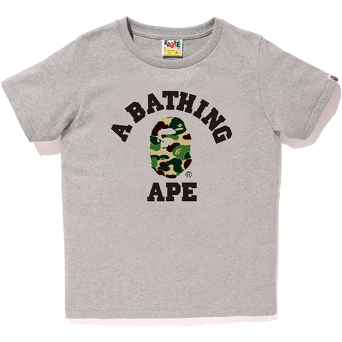 ABC CAMO COLLEGE TEE LADIES
