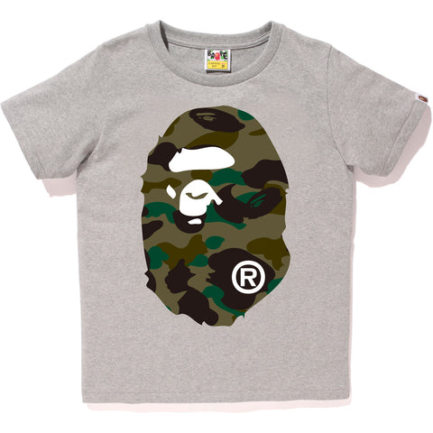 1ST CAMO BIG APE HEAD TEE LADIES