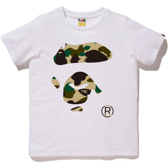 1ST CAMO APE FACE TEE LADIES