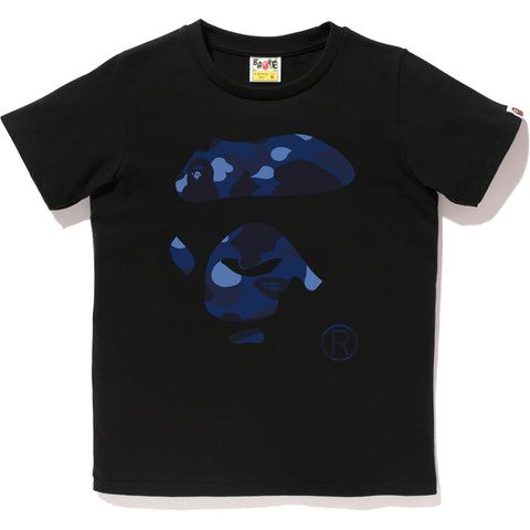COLOR CAMO APE FACE TEE LADIES