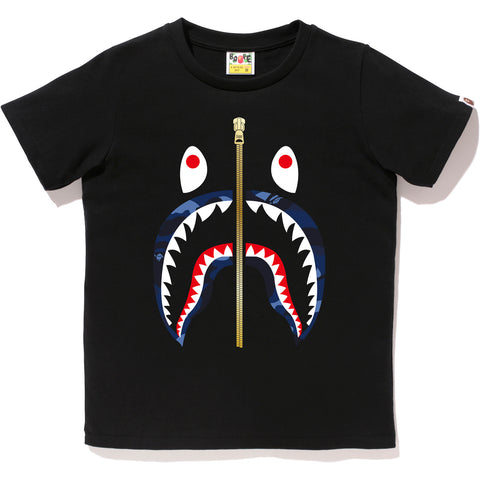 COLOR CAMO SHARK TEE LADIES
