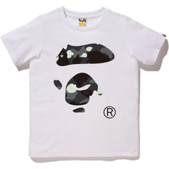 CITY CAMO APE FACE TEE LADIES
