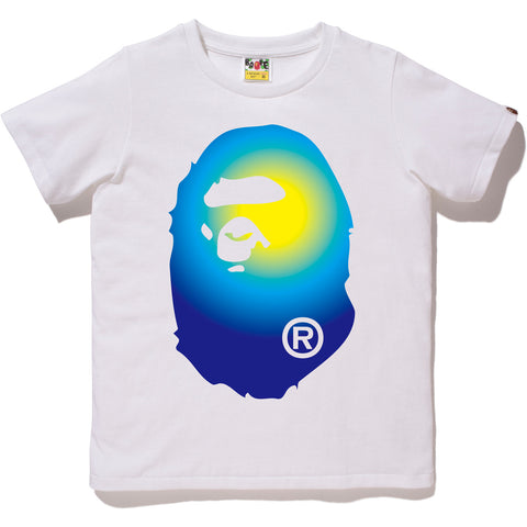 GRADATION BIG APE HEAD TEE LADIES