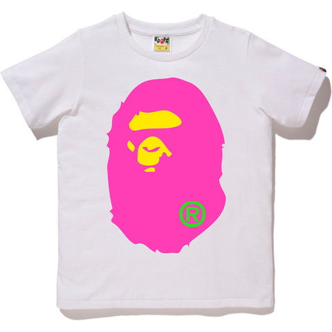 NEON BIG APE HEAD TEE LADIES