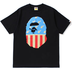 STA AND STRIPES BIG APE HEAD TEE MENS