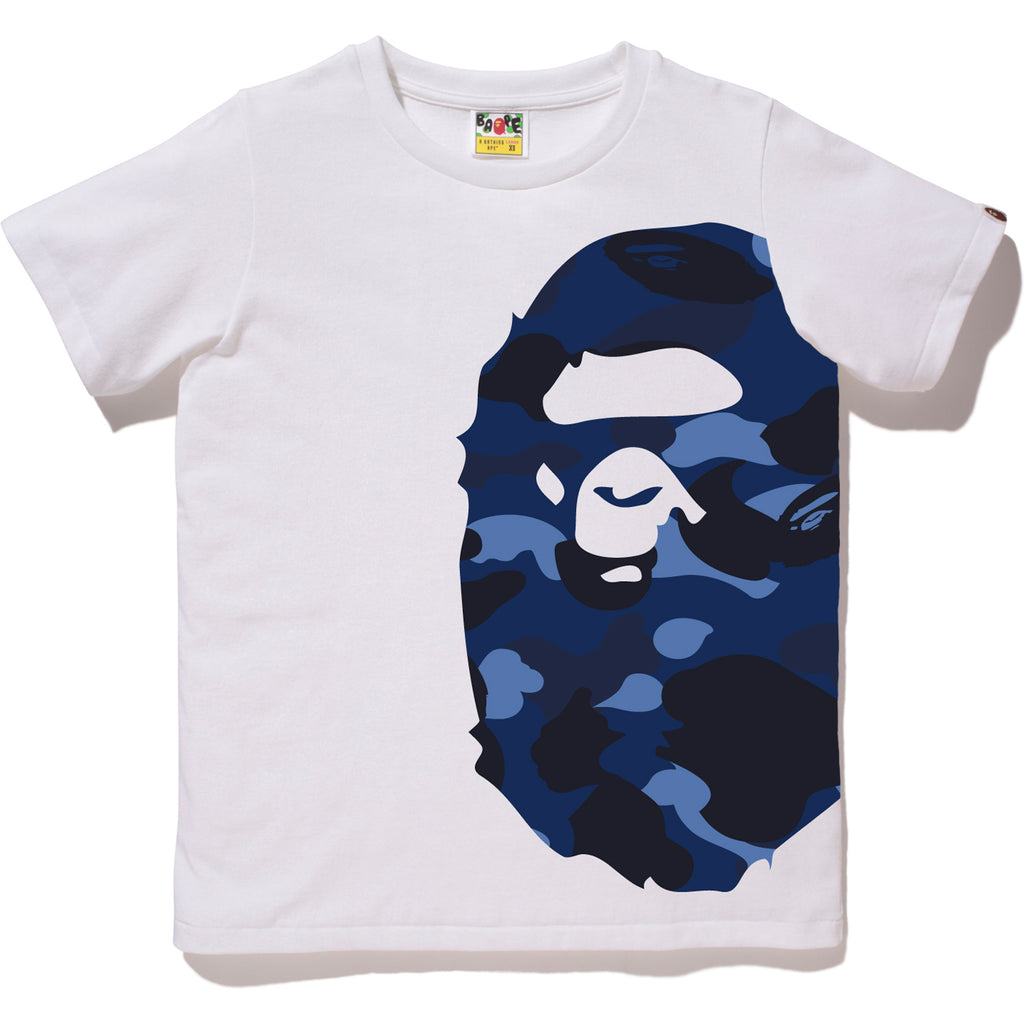 Color Camo Side Big Ape Head Tee La S