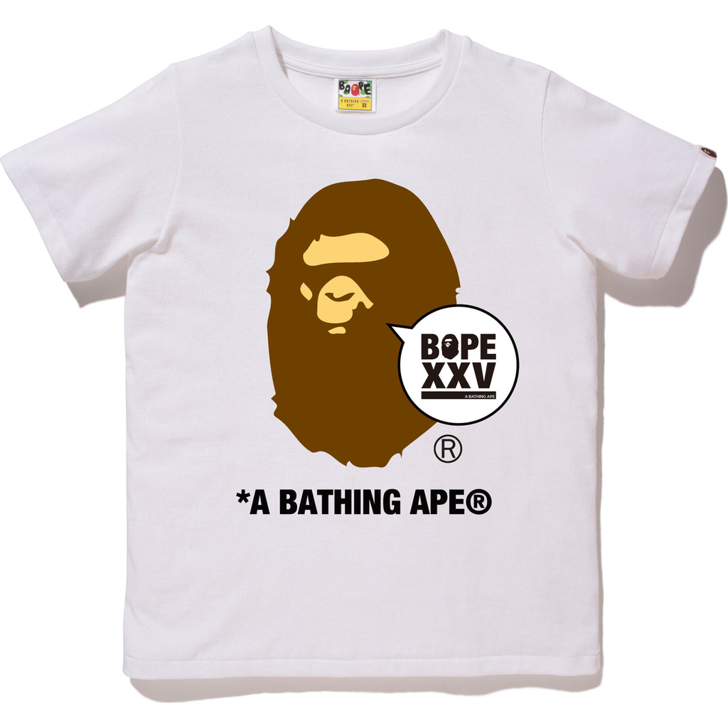 BAPE XXV APE HEAD TEE LADIES