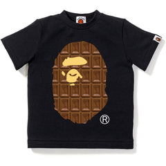 VALENTINE CHOCOLATE APE HEAD TEE KIDS