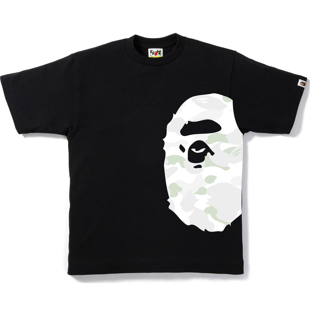 CITY CAMO SIDE BIG APE HEAD TEE MENS
