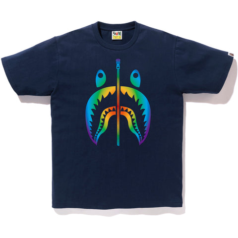 RAINBOW SHARK TEE MENS
