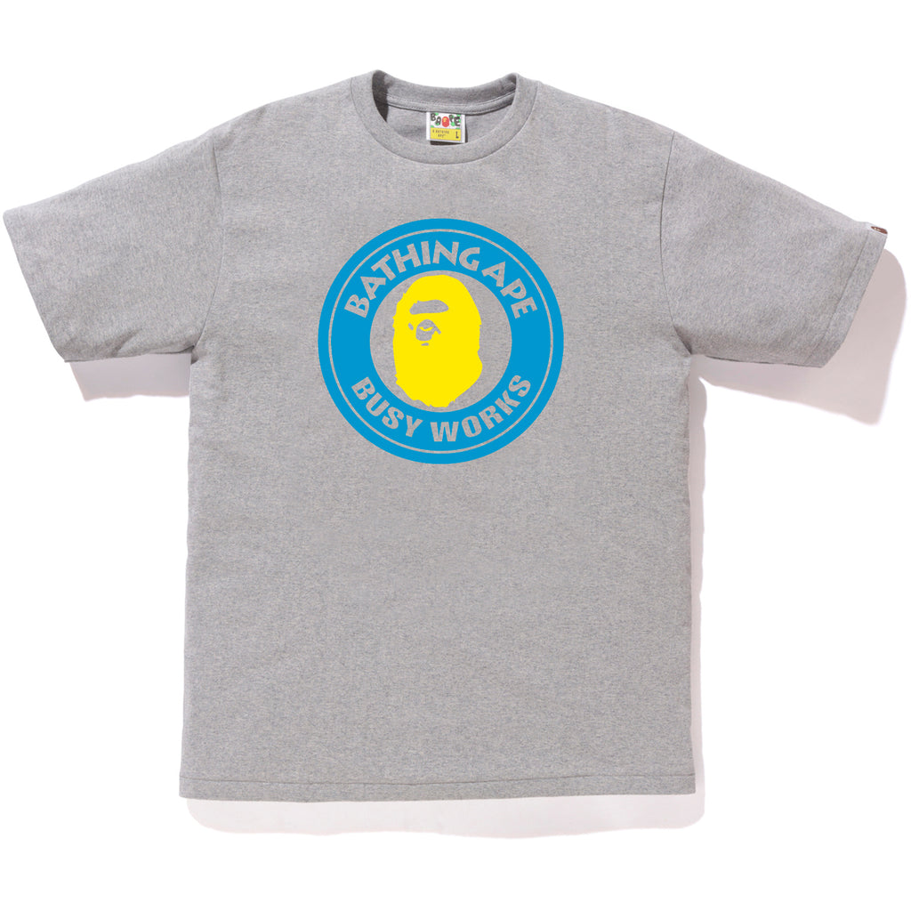 NEON BUSY WORKS TEE MENS