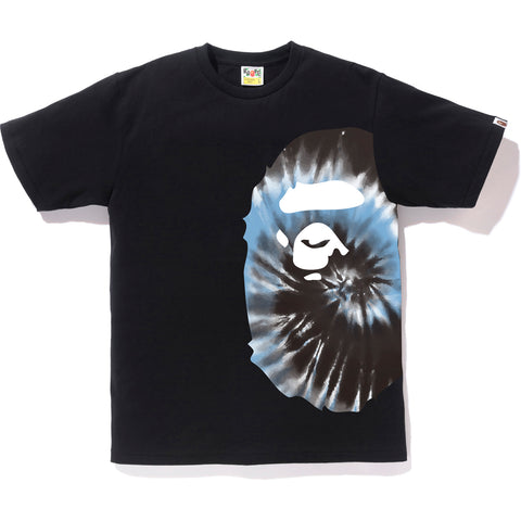 TIE DYE SIDE BIG APE HEAD TEE MENS