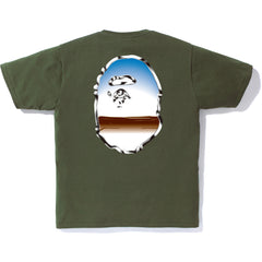 METAL BIG APE HEAD TEE MENS