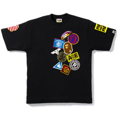 BAPE FAKE EMBLEM TEE MENS