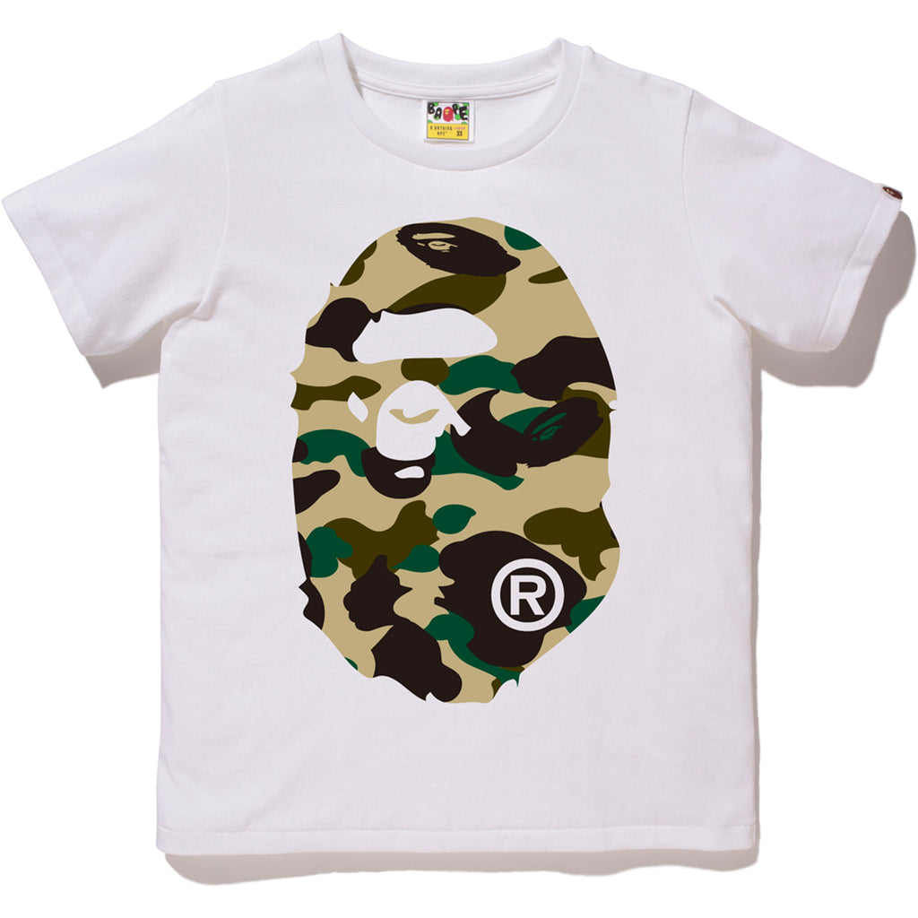 64092efdc406 1ST CAMO BIG APE HEAD TEE LADIES