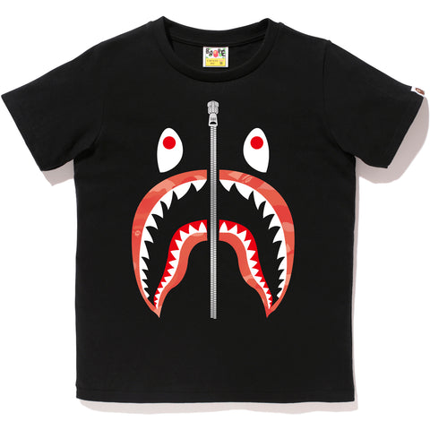 GRADATION CAMO SHARK TEE LADIES
