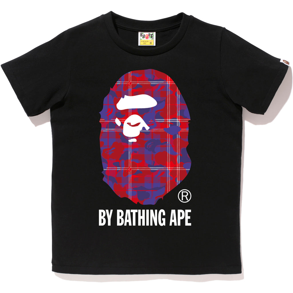 CHECK CAMO BY BATHING TEE LADIES