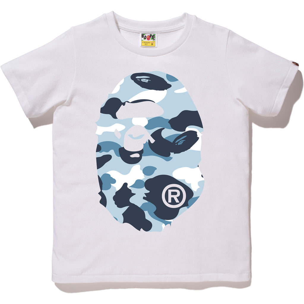 MARINE CAMO BIG APE HEAD TEE LADIES