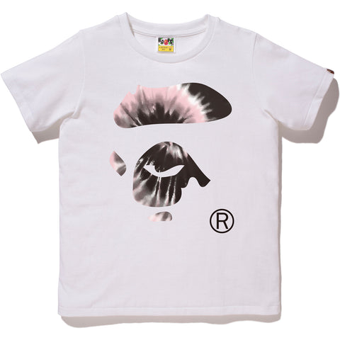 TIE DYE APE FACE TEE LADIES