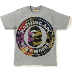 MIX CAMO BIG BUSY WORKS TEE MENS