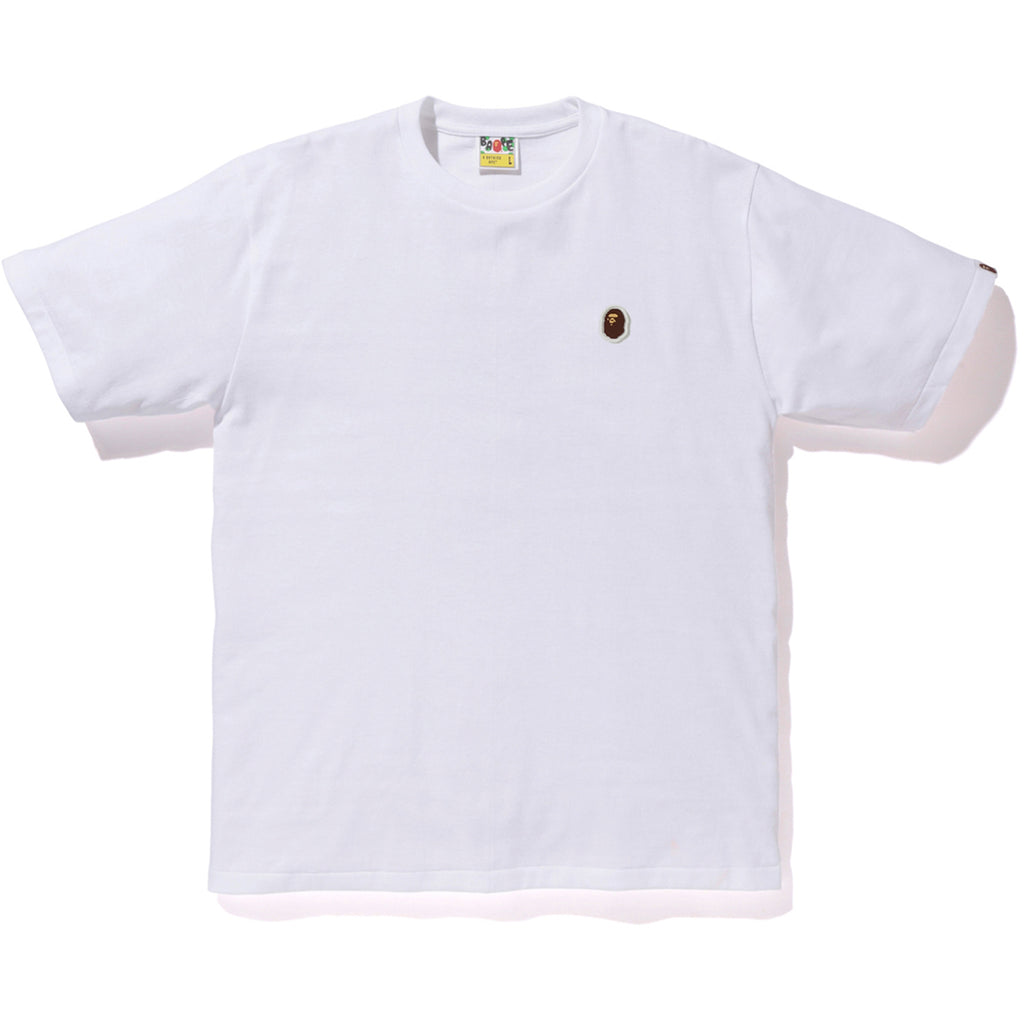 SILICON APE HEAD ONE POINT TEE MENS