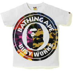 MIX CAMO BIG BUSY WORKS TEE LADIES