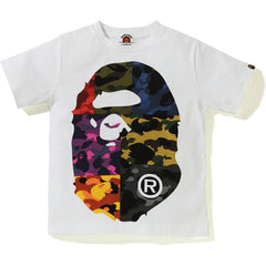 MIX CAMO BIG BIG APE HEAD TEE KIDS
