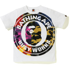 MIX CAMO BIG BUSY WORKS TEE KIDS