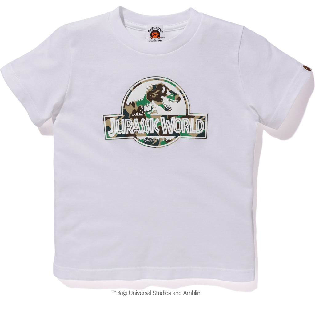 BAPE JURASSIC WORLD TEE #1 KIDS