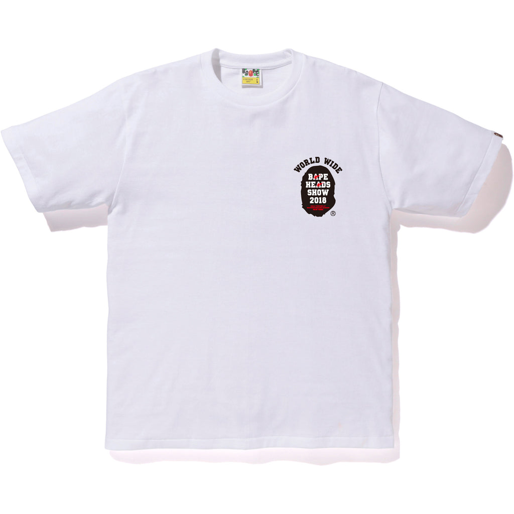 BAPE HEADS SHOW HULU THEATER TEE MENS