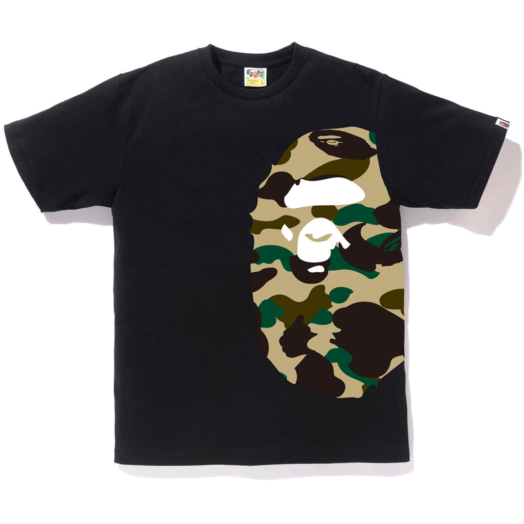 1ST CAMO SIDE BIG APE HEAD TEE MENS