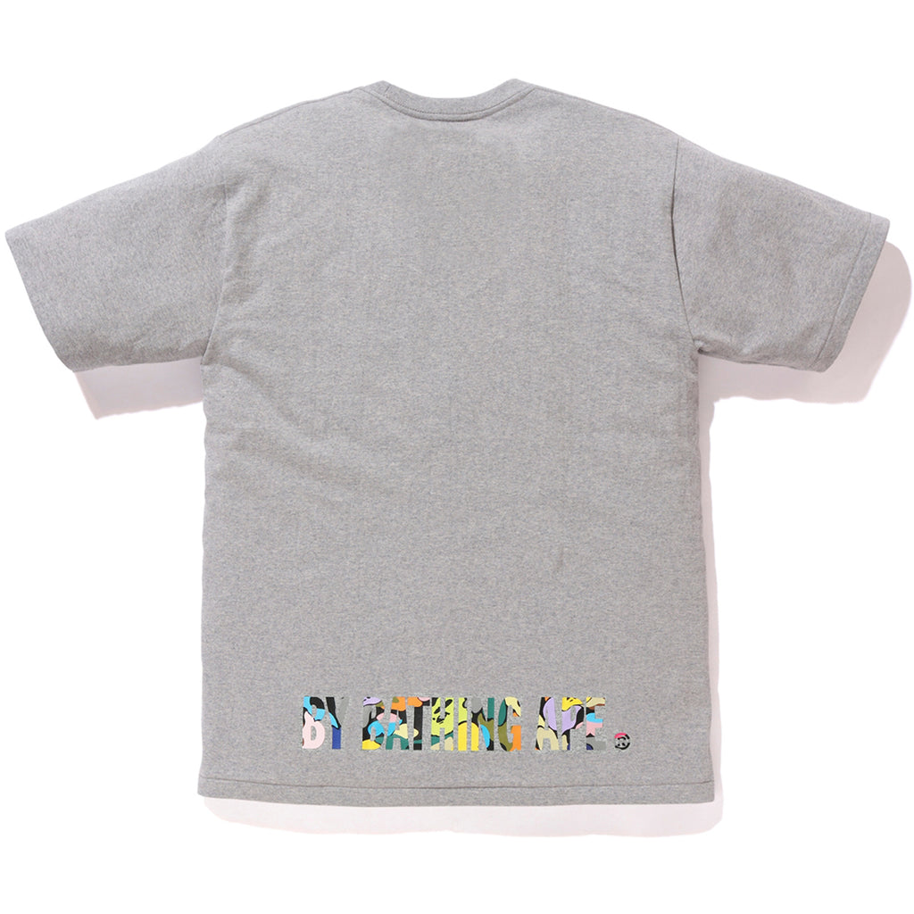 MULTI CAMO APE FACE ON BAPESTA TEE MENS
