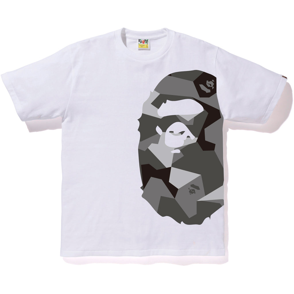 SPLINTER CAMO SIDE BIG APE HEAD TEE MENS