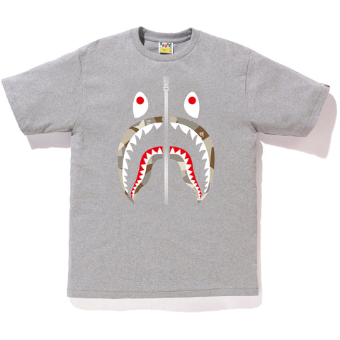 SPLINTER CAMO SHARK TEE MENS