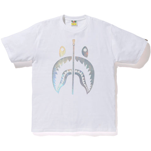 d313c5f12 HOLOGRAM SHARK TEE MENS | us.bape.com