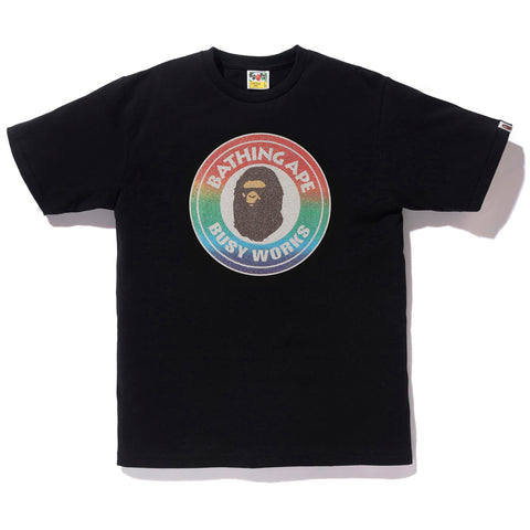 GLASS BEADS RAINBOW BUSY WORKS TEE MENS