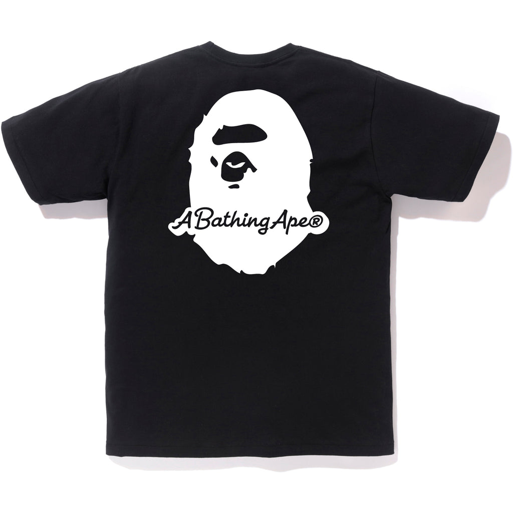 A BATHING APE PATCH TEE MENS