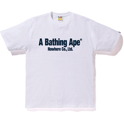 BAPE HANDLE WITH CARE TEE MENS