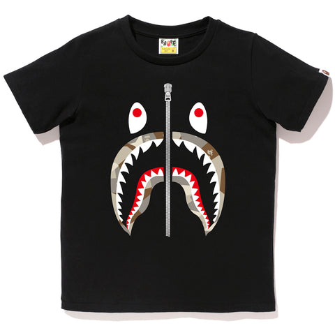 SPLINTER CAMO SHARK TEE LADIES