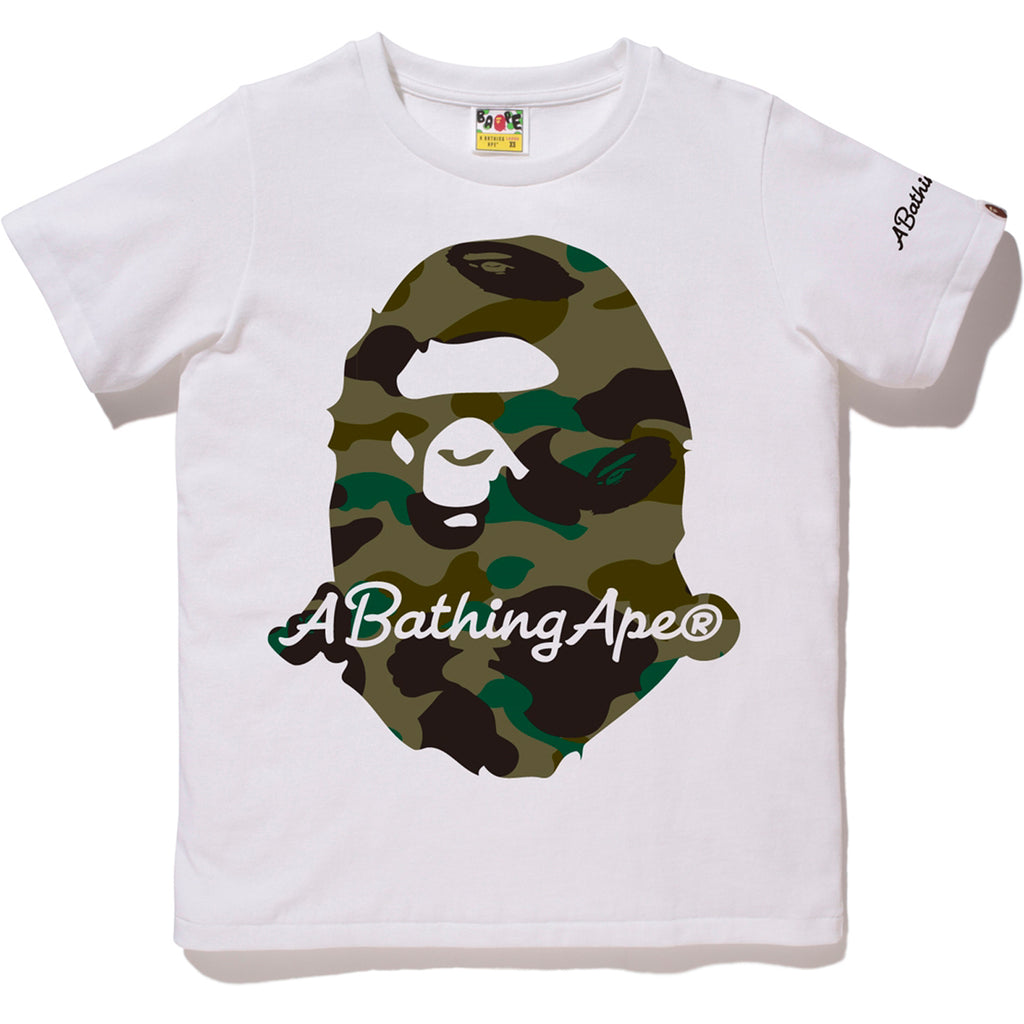 1ST CAMO A BATHING APE TEE LADIES