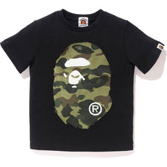 BOA 1ST CAMO BIG APE HEAD TEE KIDS