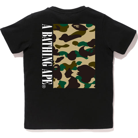 1ST CAMO BOX TEE LADIES