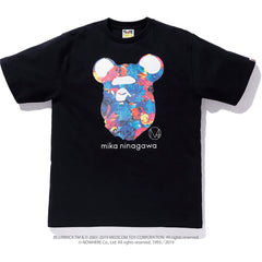 f8a723a00c NEW BAPE MN BE@R APE HEAD TEE MENS