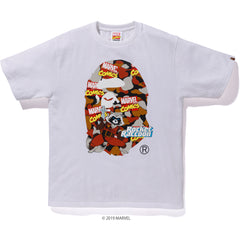 BAPE X MARVEL CAMO ROCKET RACCOON TEE MENS
