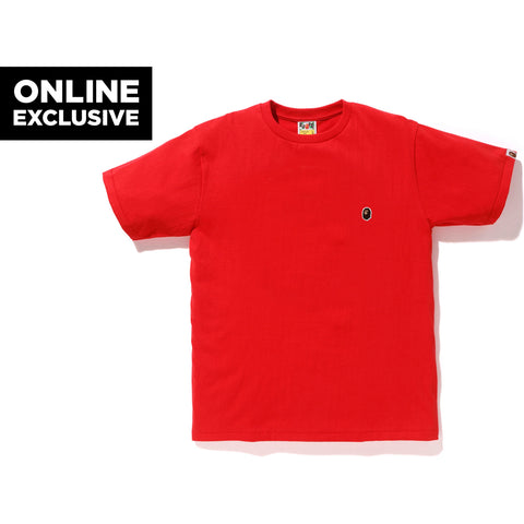 ONE POINT TEE M BAPEC MENS