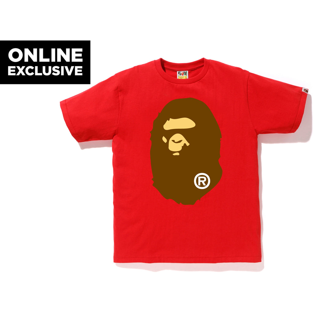 BIG APE HEAD TEE M BAPEC MENS